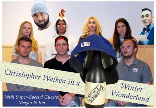 Christopher Walken In a Winter Wonderland