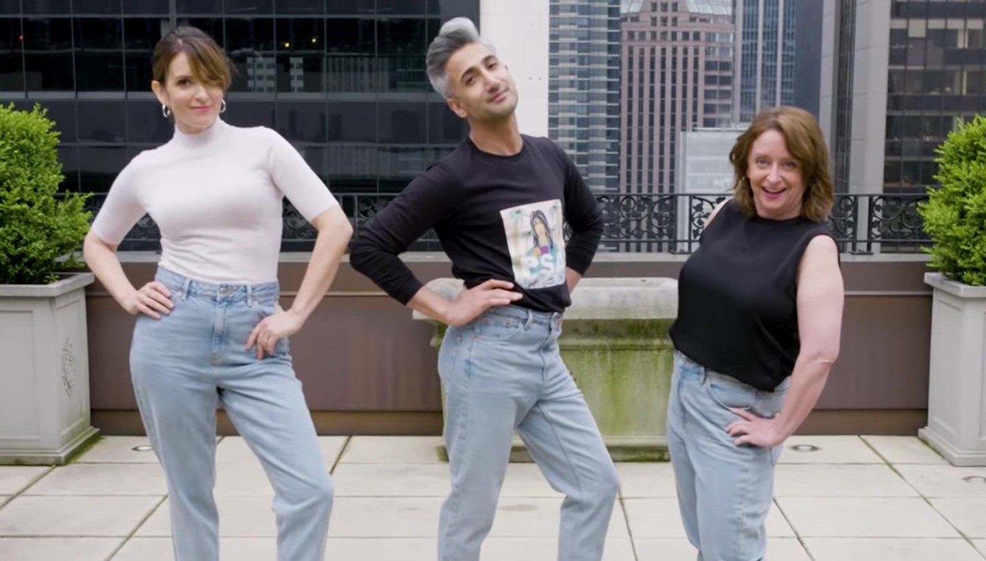 Tina Fey & Rachel Dratch Got the Full 'Queer Eye' Treatment from Tan France