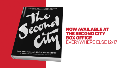 Get the New Second City Book! - The Second City