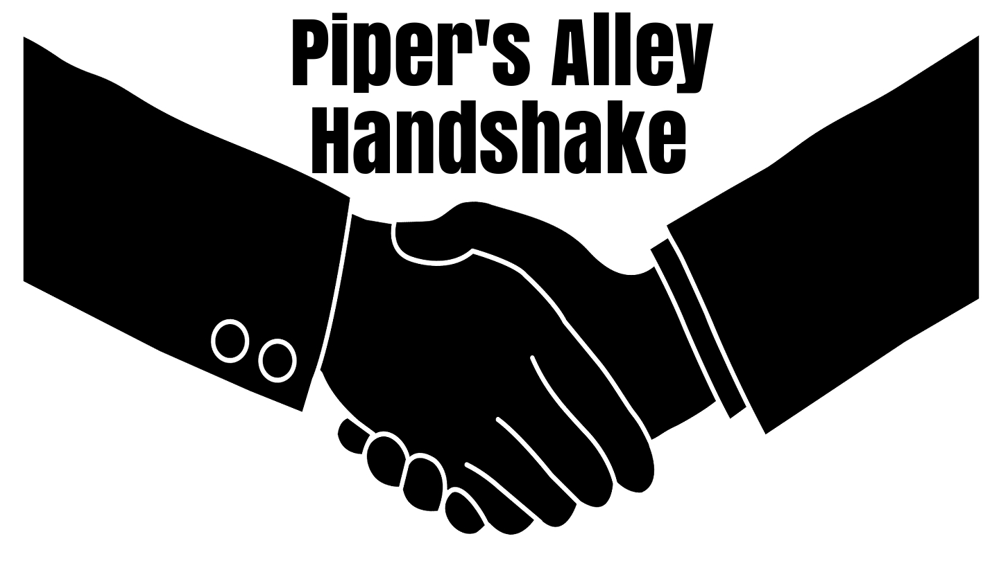 Piper's Alley Handshake