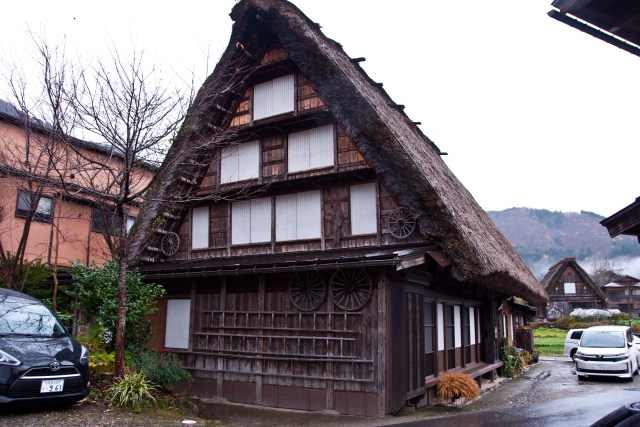 My minshuku in Shirakawa-go in November