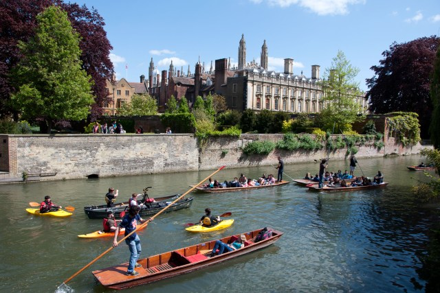 Punting chaos in Cambridge