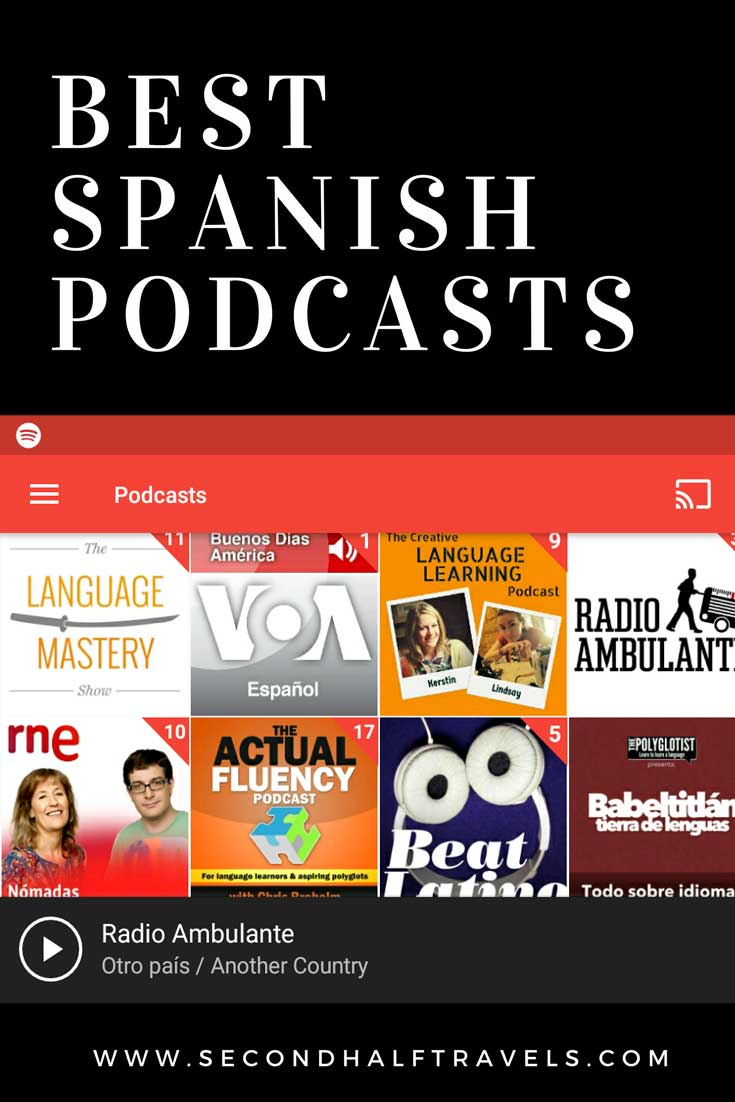 Best Spanish Podcasts for listening practice