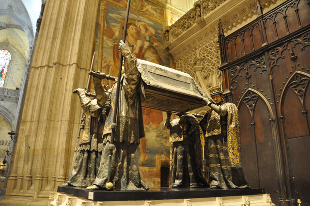 Christopher Columbus's tomb, Seville cathedral