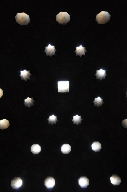 Skylights in Arab baths, Alhambra