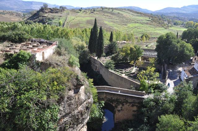 Arab baths and Arab bridge, Ronda