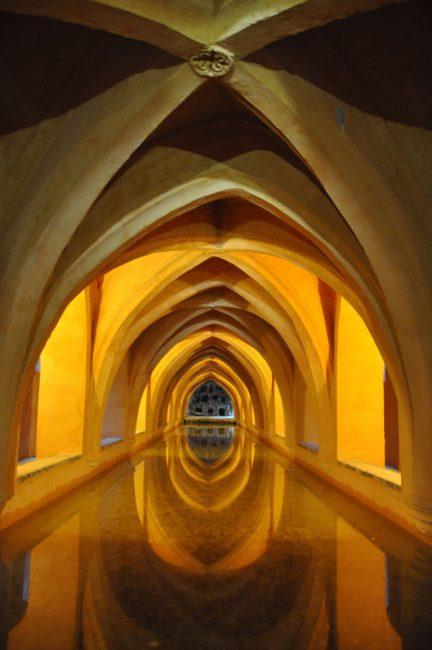The Baths of Lady María de Padilla, Alcázar, Seville