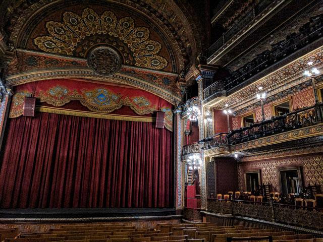 Interior, Teatro Juárez