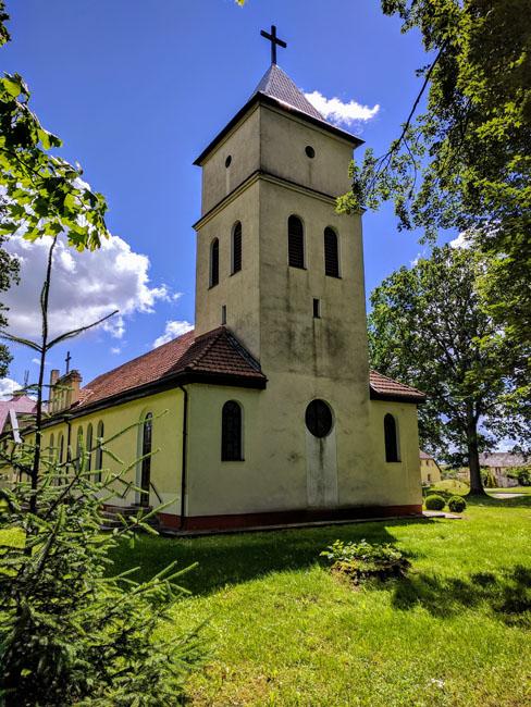 Evangelical church, Pagėgiai