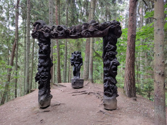 Hill of Witches sculpture park, Juodkrantė