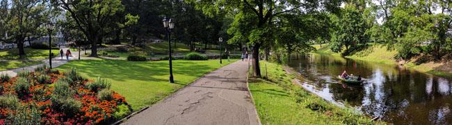 City park, Riga