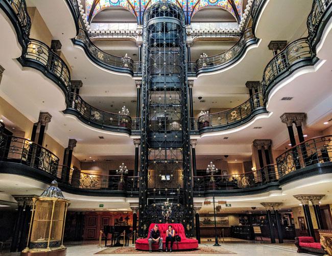 Lobby, Gran Hotel Ciudad de México
