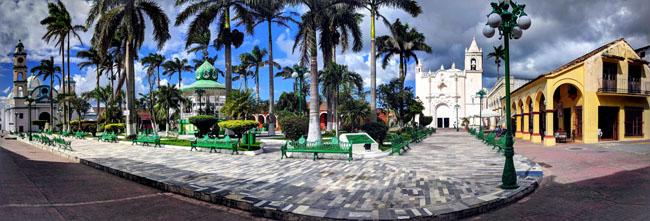 Zócalo, Tlacotalpan, Veracruz, Mexico
