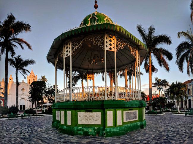 Kiosco, Zócalo, Tlacotalpan, Veracruz