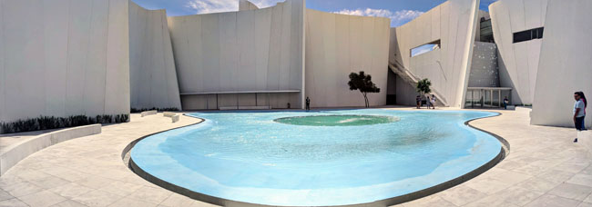Puebla's Museo Internacional del Barroco features incredible architecture