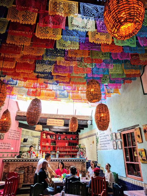 Interior, Pulquería la Tía Yola, Tlaxcala City