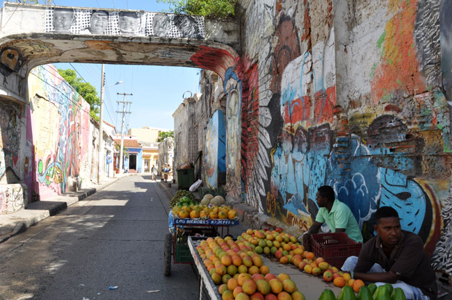 Street art, Getsemaní, Cartagena