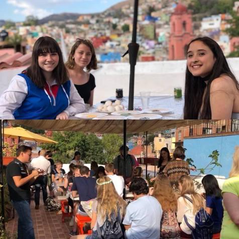 Escuela Mexicana's terrace