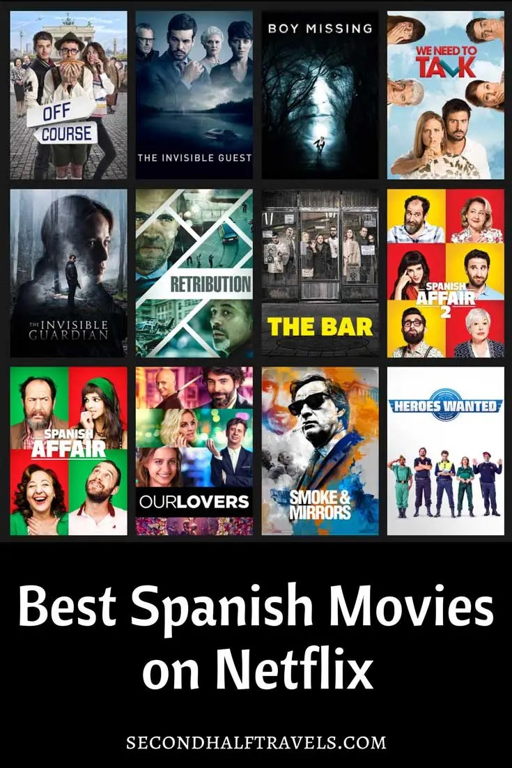 Best Spanish-Language Movies on Netflix to improve your Spanish