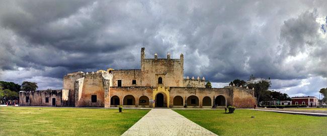 Convento de San Bernardino de Siena, Valladolid - best places to visit in Yucatan