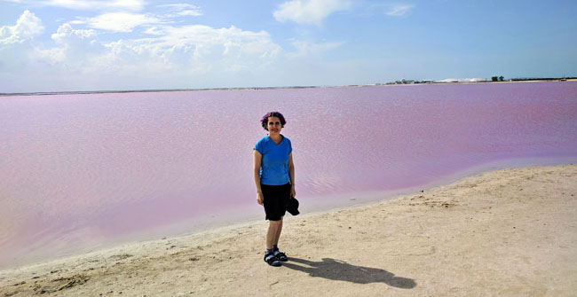 Las Coloradas - what to see in Yucatan Mexico