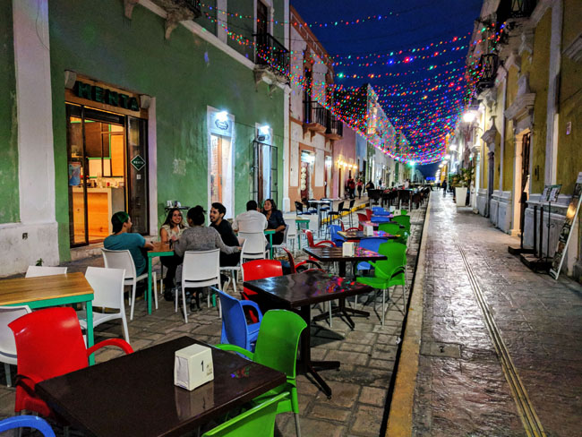 Calle 59, Campeche - best places Yucatan peninsula