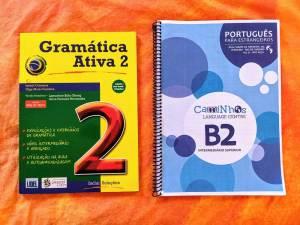 Caminhos grammar book and workbook