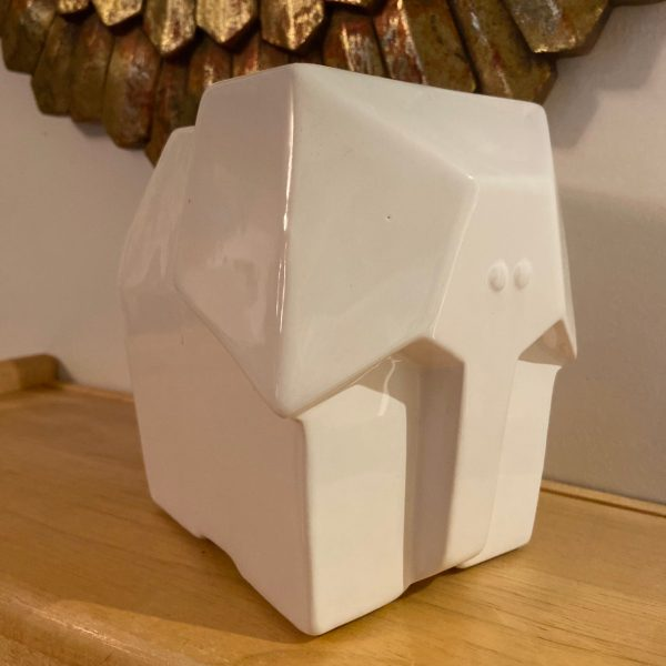 Front view of Elephant Coin Bank.