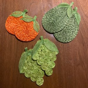 Handcrafted Fruit Coasters