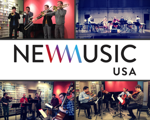 New Music USA collage