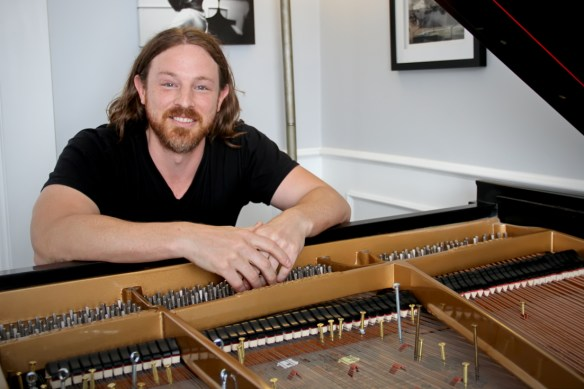 Seattle-based pianist Jesse Myers, who performed the Sonatas and Interludes this spring.