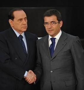 Berlusconi con Cosentino