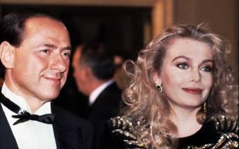 Silvio Berlusconi con Veronica Lario