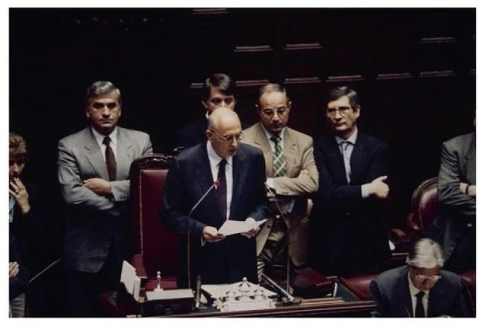 Elezione di Giorgio Napolitano a presidente della Camera il 3 giugno 1992