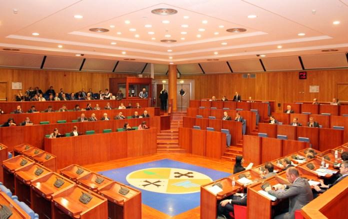 Aula Consiglio regionale della Calabria - Eletti in consiglio regionale