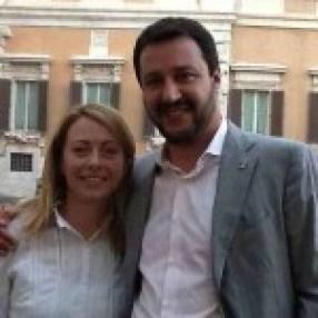 COME FRATELLI Matteo Salvini con Giorgia Meloni legati da un destino comune