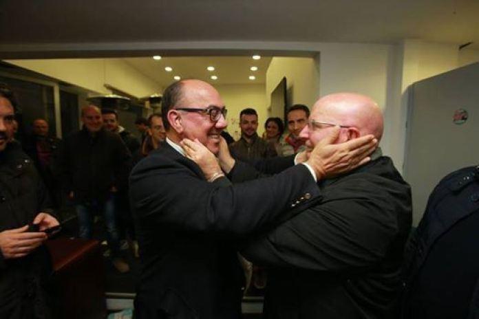 Carlo Guccione e Mario Oliverio
