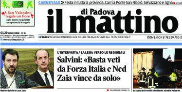 Elezioni regionali in Veneto - Mattino di Padova intervista Matteo Salvini