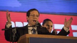 Il leader di Campo Sionista Isaac Herzog