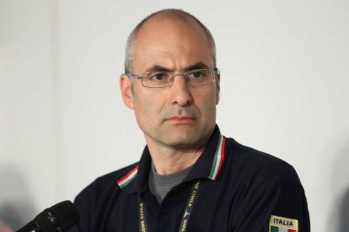 Il capo della Protezione civile Fabrizio Curcio