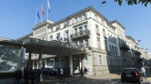 Hotel Baur au Lac di Zurigo dove è avvenuto il blitz contro i vertici Fifa