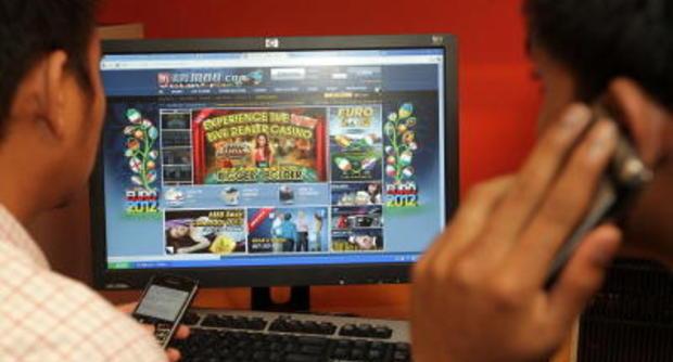 Gioco d'azzardo on line blitz della Dia