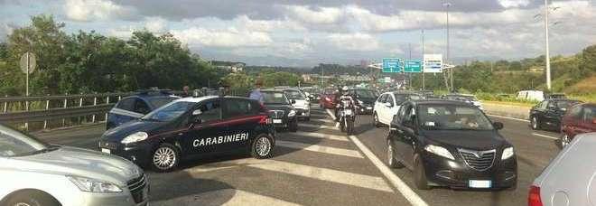 Traffico sulla Cassia bis - Sparatoria a Roma