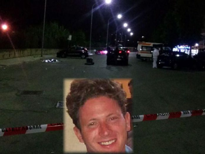 Il luogo in via Conciliazione dove è stato ucciso Salvatore Sciacchitano - Omicidio in quartiere Falsomiele a Palermo