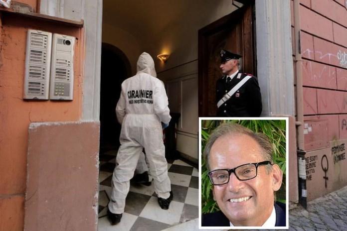 Ucciso a Roma Oliver Degenhardt (riquadro), Ceo del gruppo Kao Italia