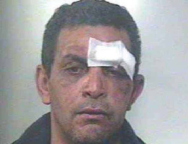 Diede fuoco a una donna, fermato un algerino irregolare Bach Sais Rachid