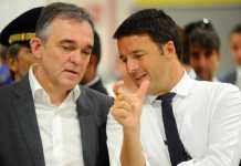Enrico Rossi con Matteo Renzi