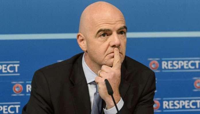 Il neo presidente della Fifa Gianni Infantino