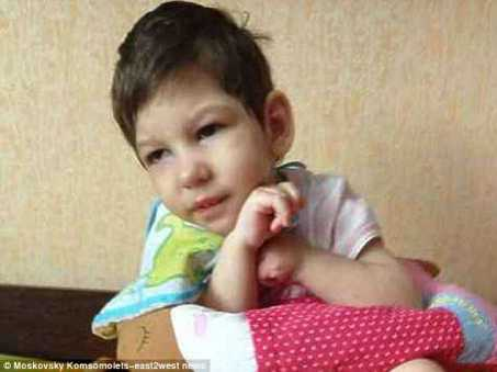 la piccola Anastasia Meshcheryakova detta Nastya