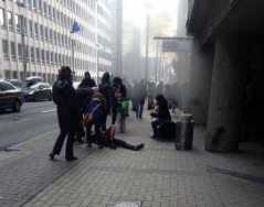 Attacco a Bruxelles - esplosione metro Maelbeek